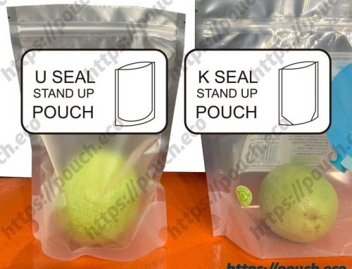 The way to use K seal bag packing heavy content