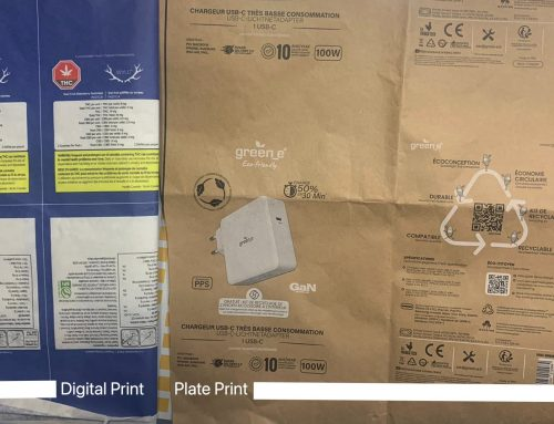 digital vs plate print smallest text